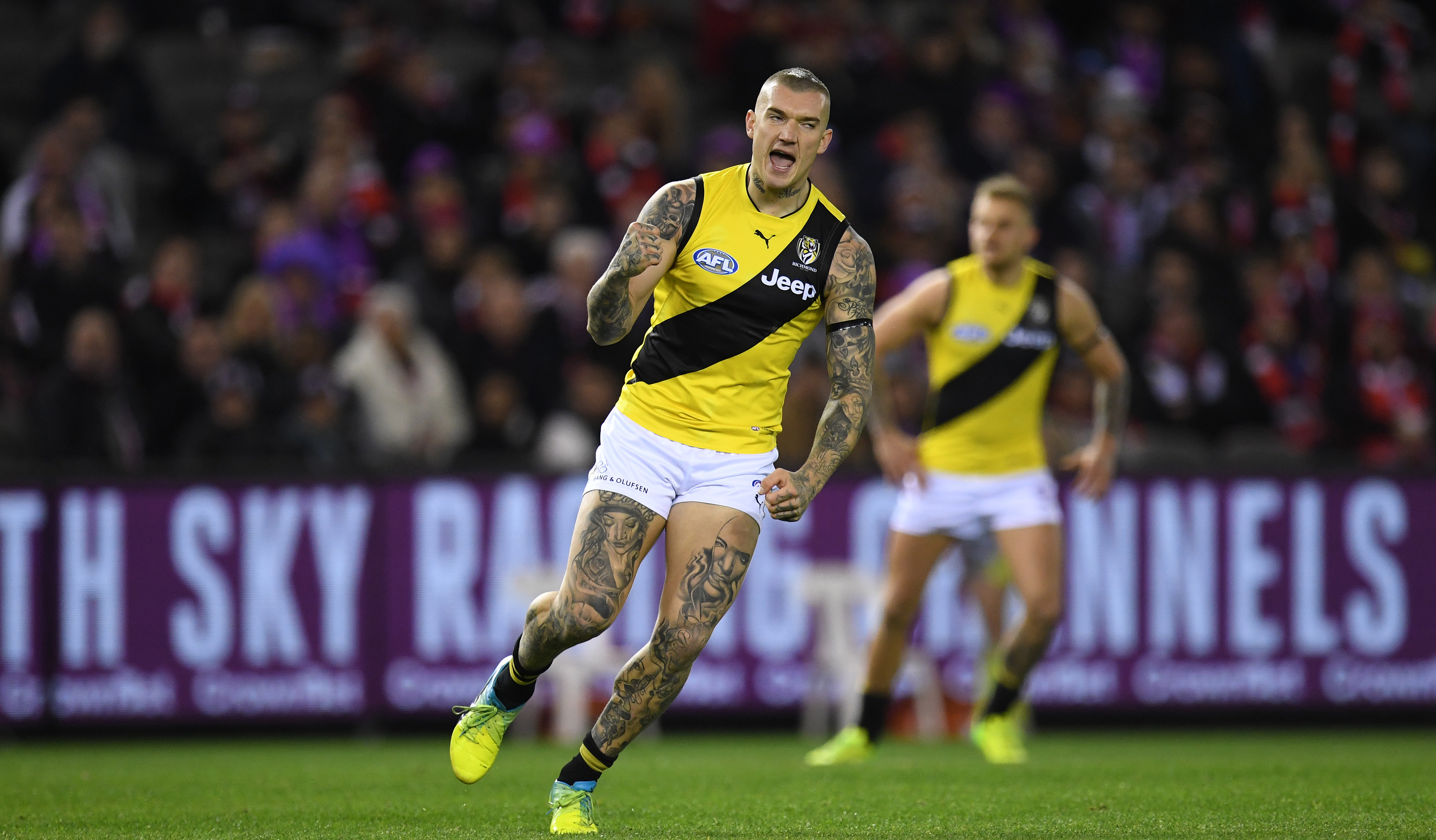Article image for Richmond thumps St Kilda with first-half blitz