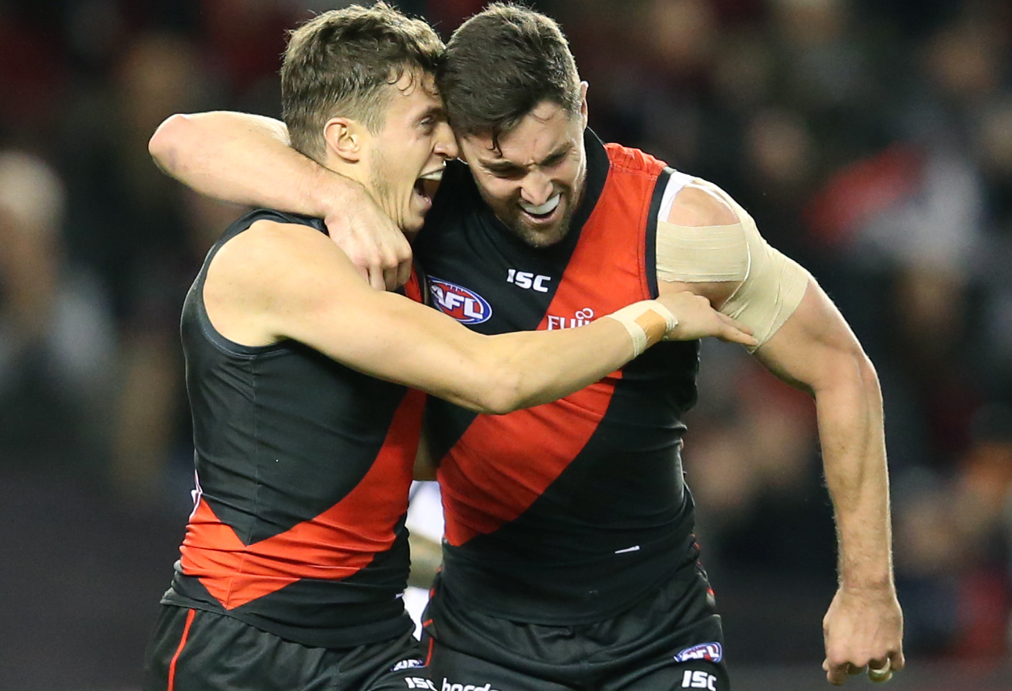 Article image for Essendon keep their finals dreams alive with victory over the Dockers