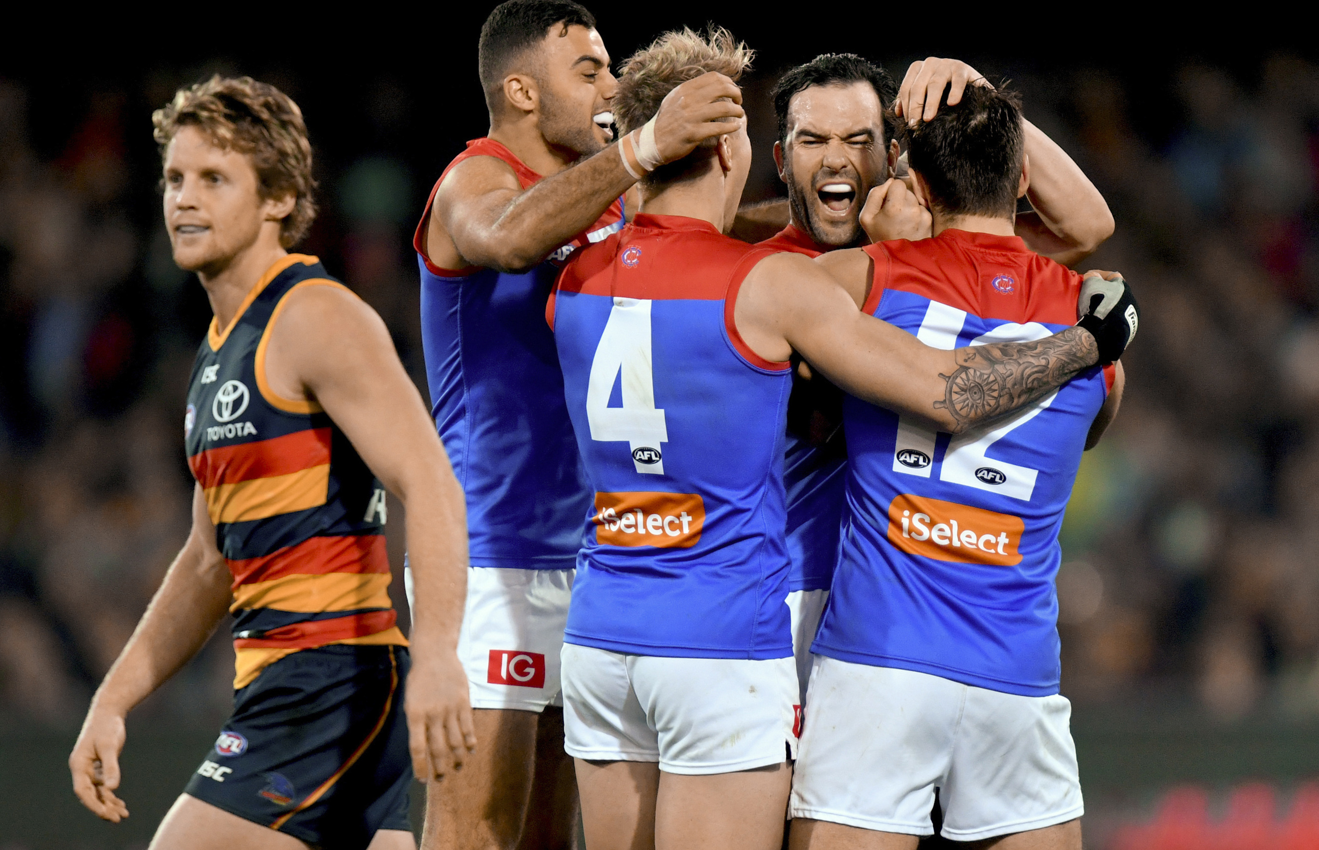 Article image for Demons withstand Adelaide fightback to record important victory