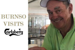 'So much beer, so little time': Burnso tours iconic Carlsberg beer museum