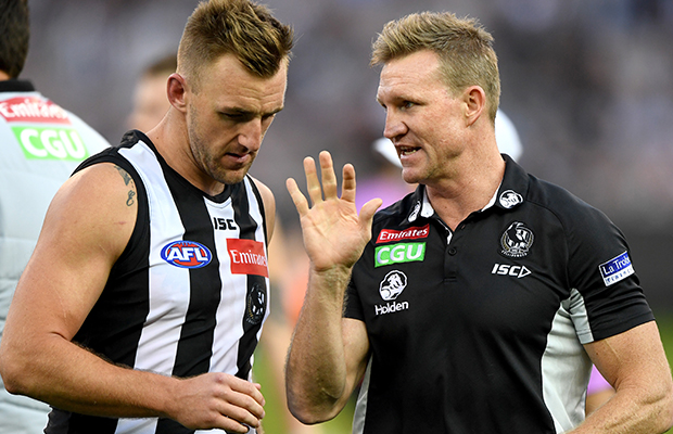 Article image for Collingwood defender ruled out for the season
