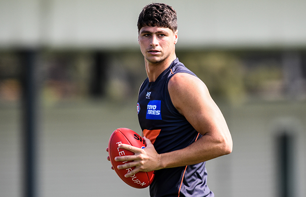 Article image for Fears GWS forward has torn his ACL again