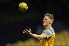 James Sicily may not play again this season