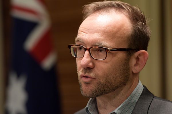 Article image for 'Stay out of Melbourne': Greens MP Adam Bandt says PM, Dutton using 'race to win votes'