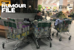 Rumour File: Man spotted buying up big on baby formula