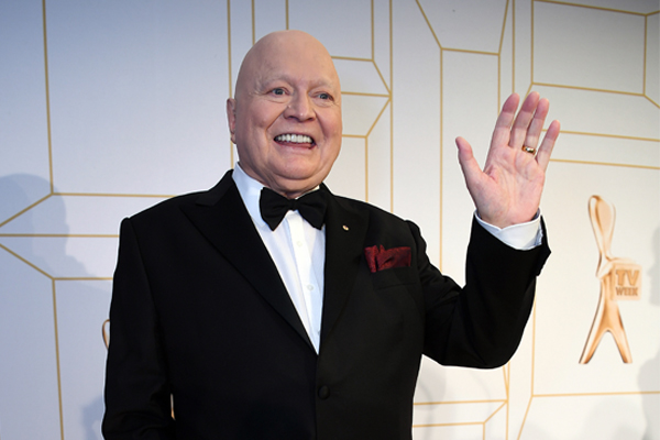 Article image for Bert Newton cops it over 'irreverent' comments at the Logies