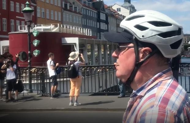 Article image for Video: Ross and John's bike tour of Copenhagen