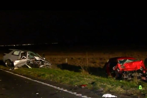 Article image for Man charged over crash that killed two children