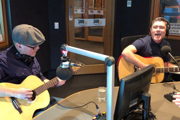Article image for The Glorious North perform in the studio on 3AW Afternoons