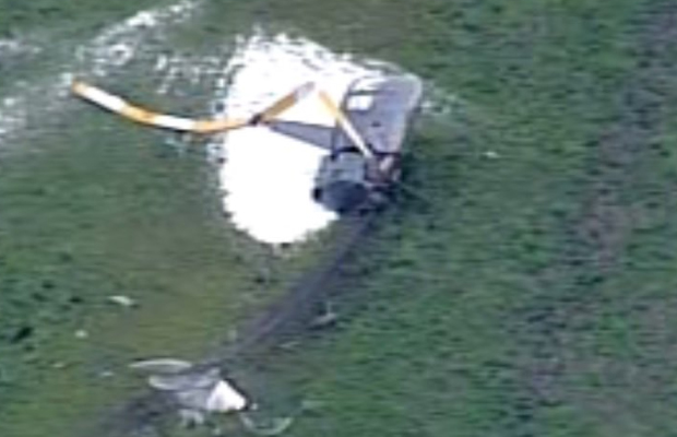 Article image for Helicopter crashes near Geelong