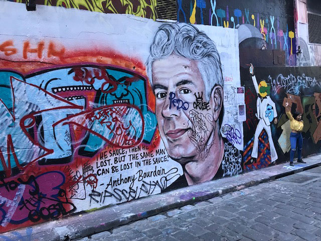 Article image for 'Disgraceful' tagging bringing down Melbourne's most popular street art scene
