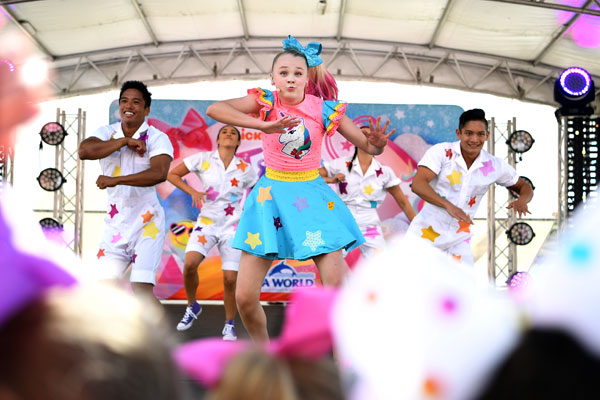 Article image for 'It was crazy!': International superstar JoJo Siwa wowed by Melbourne fans