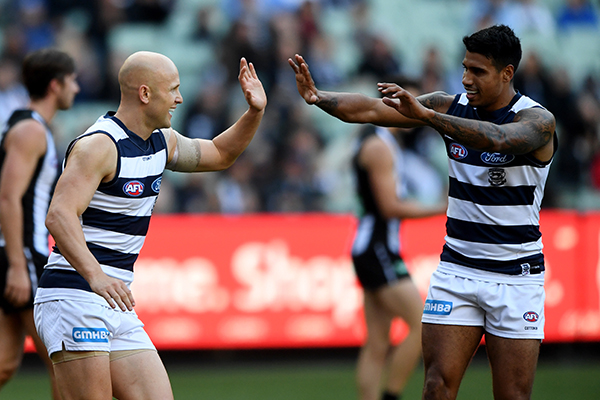 Article image for Matthew Lloyd says he'll be 'staggered' if Tim Kelly leaves Geelong