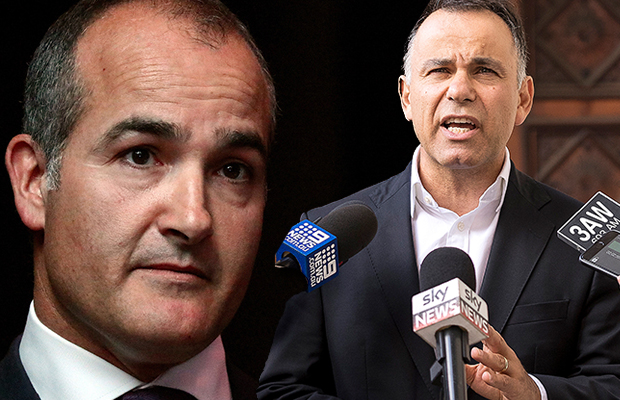 Article image for 'Why don't we get James on the line': John Pesutto hits back at rorting accusations