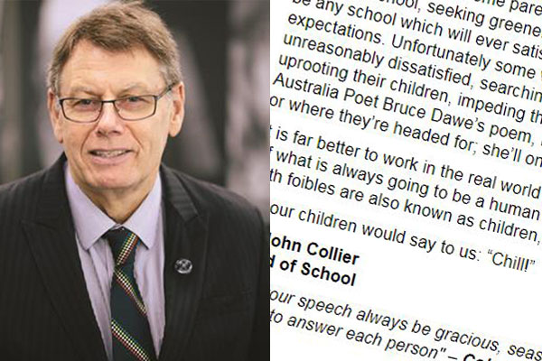 Article image for Sydney principal taking a hard line on parental 'anxiety and aggression'