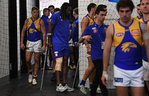 Article image for West Coast confirms Nic Naitanui will have a knee reconstruction