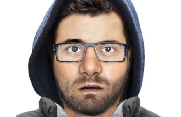 Article image for Bespectacled thug wanted over Werribee knife threats