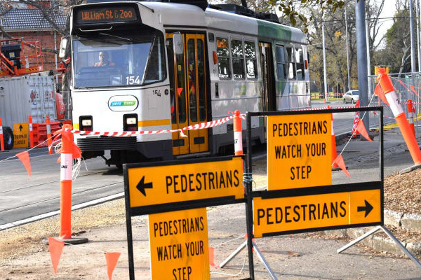Article image for CBD footpath obstruction complaints have more than doubled this year