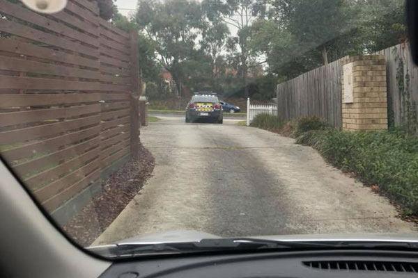 Article image for Cops using Boronia driveway to catch speedsters