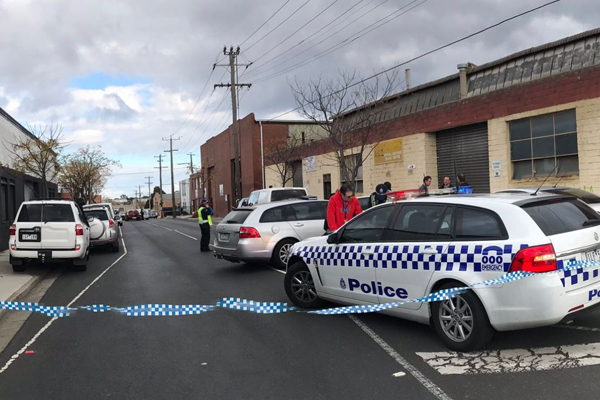 Article image for Grim discovery: Human remains found at Oakleigh South factory