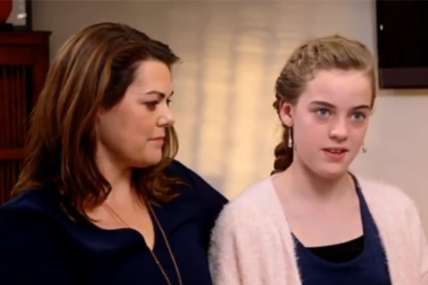 Article image for Peter Ford: The 'rather odd' TV interview with Sarah Hanson-Young's 11-year-old daughter