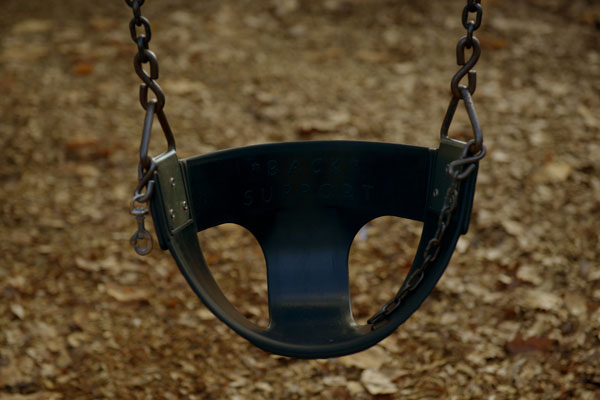 Article image for 'Scumbag' steals swings from playgrounds in Melbourne's outer-east