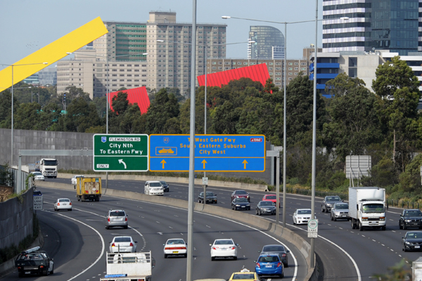 Article image for RACV: Tullamarine Fwy speed limit unlikely to be permanently set at 100km/hr