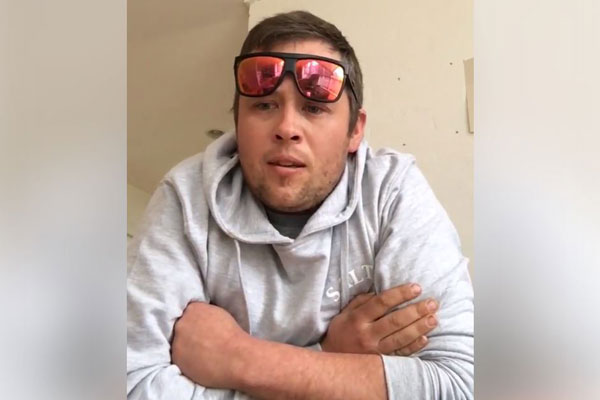 Article image for Young tradie dad's impassioned plea for greater respect for women goes viral