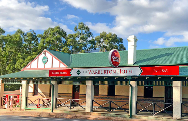 Article image for Pub Of The Week: Tony Leonard reviews the Warburton Hotel