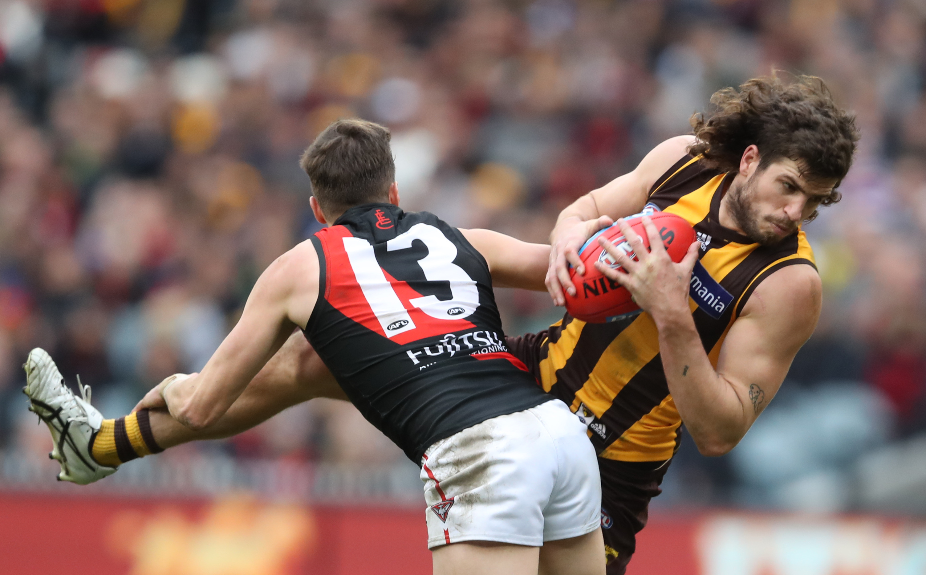 Article image for Luke Breust doesn't think Gunston or Mitchell were best afield against Essendon