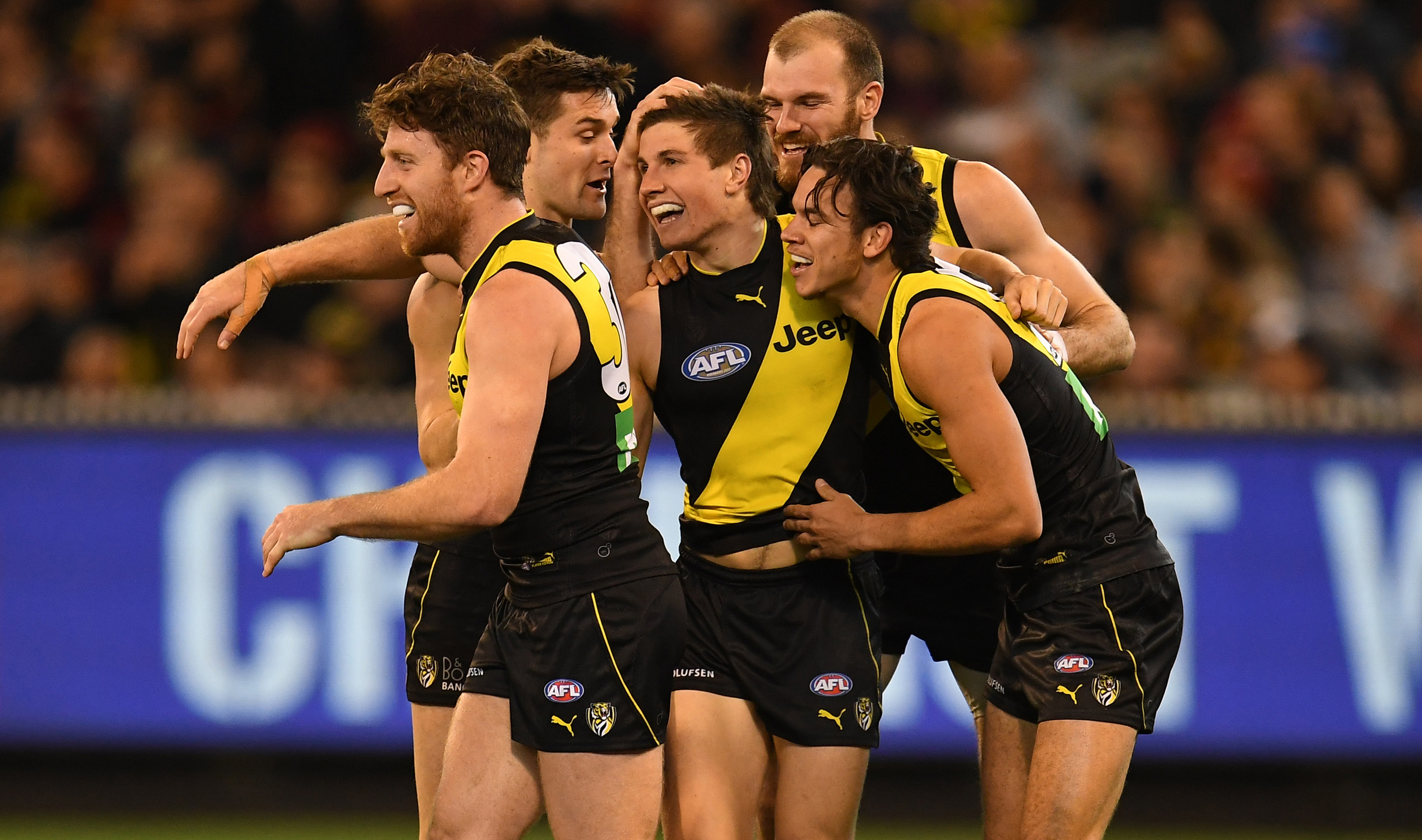 Article image for Richmond will be the 2018 minor premiers after defeating Essendon