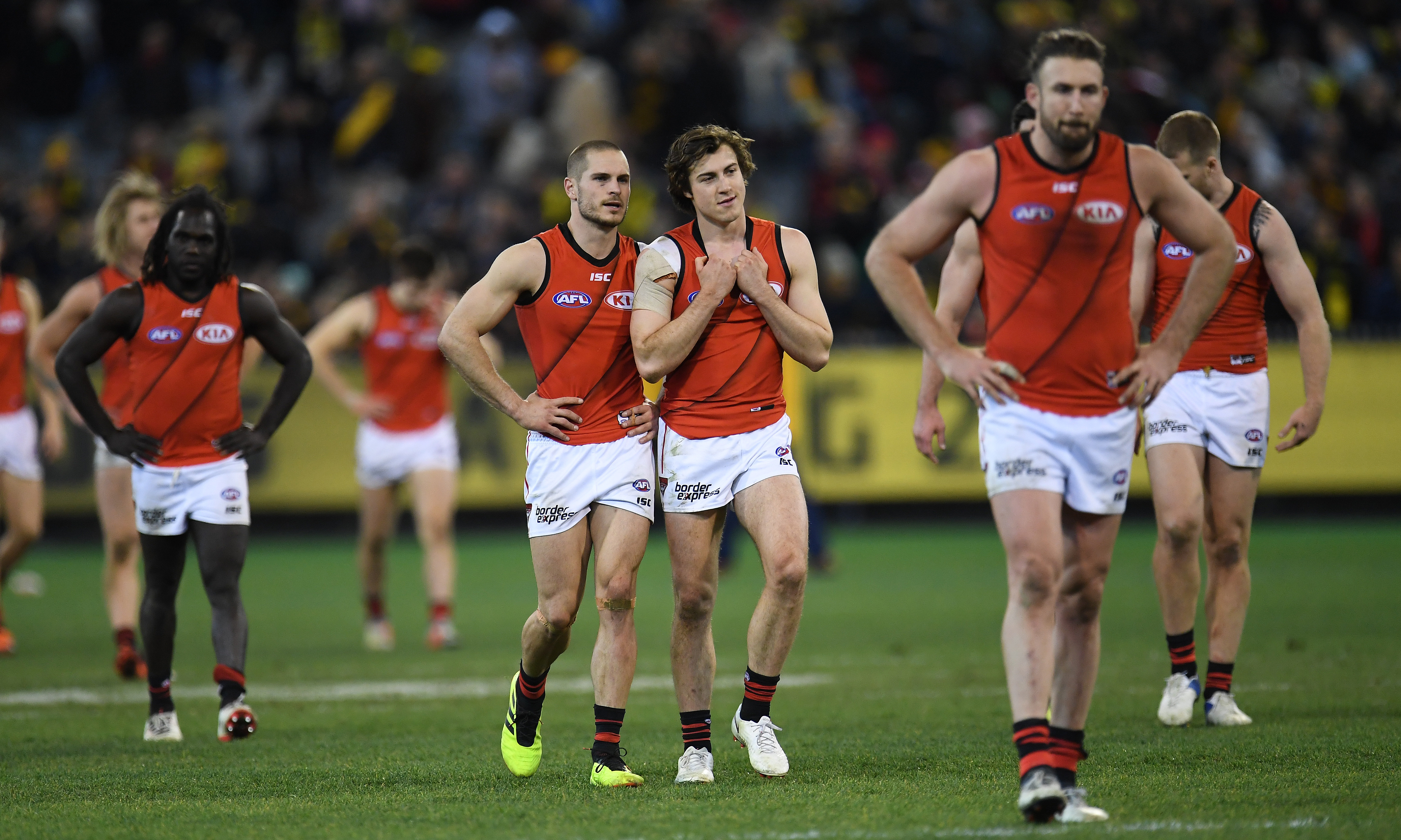 Article image for Bombers season review won't be 'abnormal' despite missing the finals