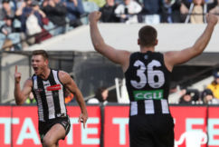 Pies keep their Top 4 dream alive with gritty win over Port