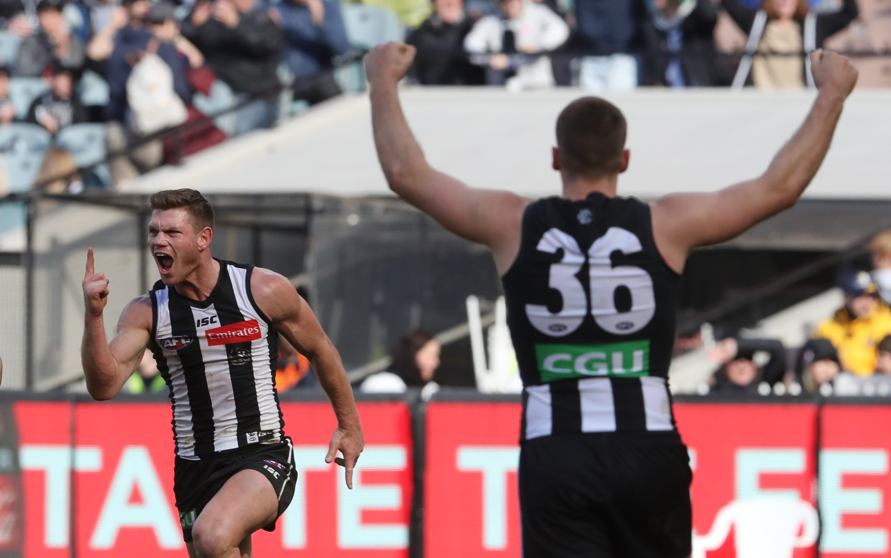 Article image for Pies keep their Top 4 dream alive with gritty win over Port