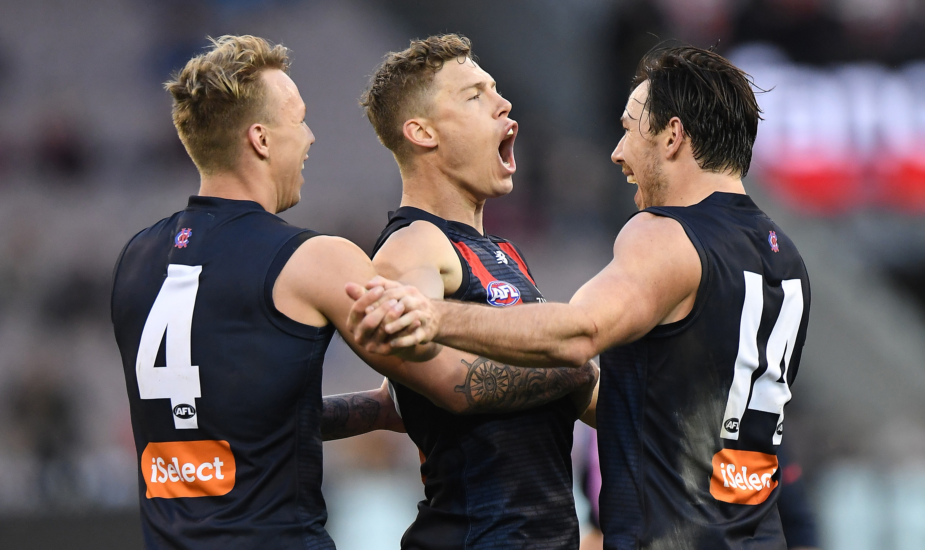 Article image for Melbourne finish fifth with a thumping win over GWS