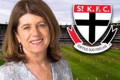 Caroline Wilson expects things to 'erupt' at St Kilda