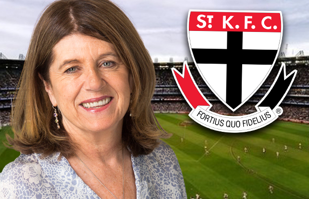Article image for Caroline Wilson expects things to 'erupt' at St Kilda