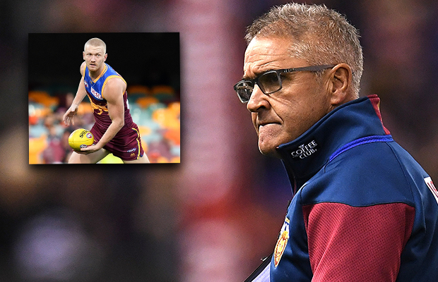 Article image for Chris Fagan wasn't exactly thrilled with Nick Robertson's 'soft' sledge…