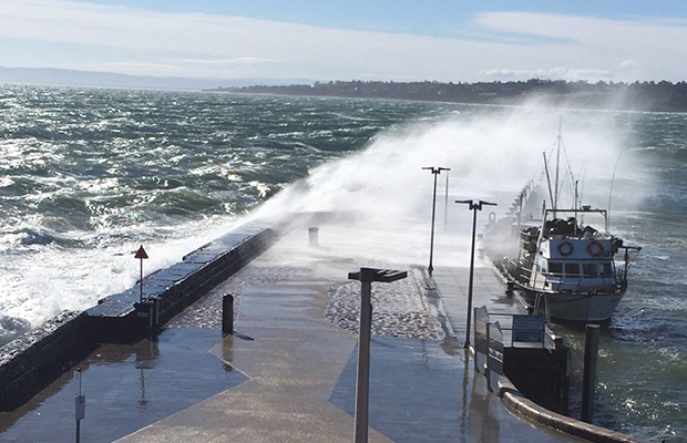 Article image for Wacky weather: Winds to whip up warm spell before cold snap