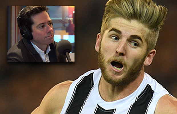 Article image for Gil caught by surprise: AFL boss reacts to news coverage of Murray/ASADA investigation