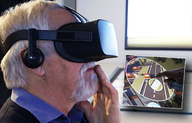 Article image for Video: Neil Mitchell tours new TAC's new driver 'school'