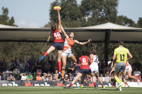 Article image for AFLW players 'disappointed' at proposed 2019 fixture