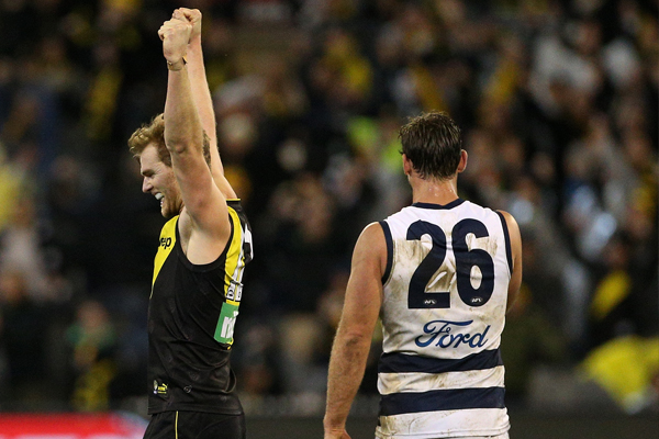 Article image for Tiger defender didn't take notice of Chris Scott's comments about Richmond