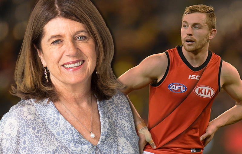 Article image for 'It's not a clash'   Caro slams Essendon's 'ridiculous' jumper