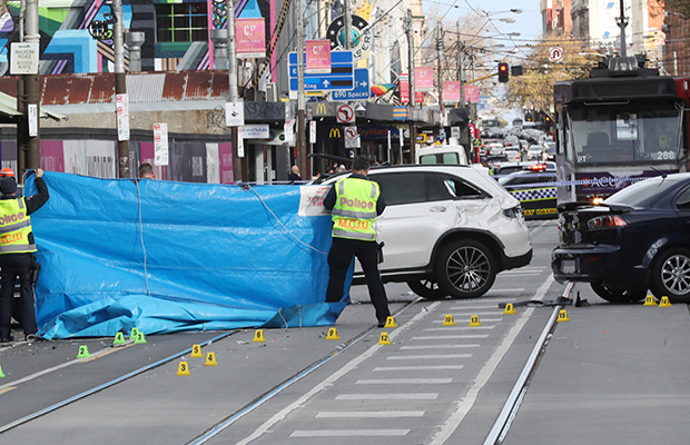 Article image for Man arrested over alleged hit-run on Chapel Street