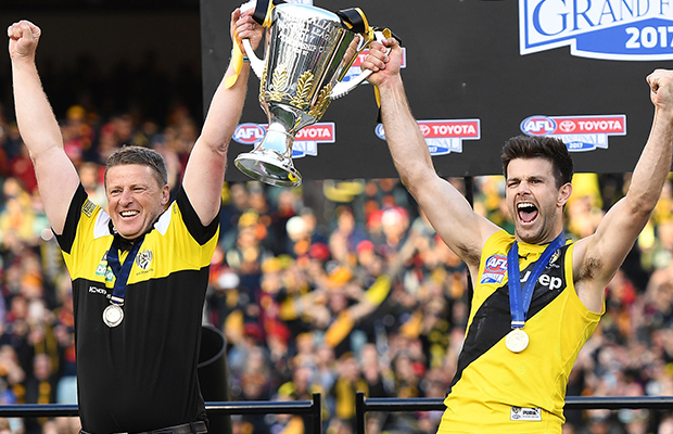 Article image for Richmond captain extends his contract long-term