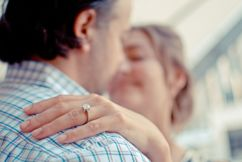 Is it OK to buy an engagement ring with a synthetic diamond?