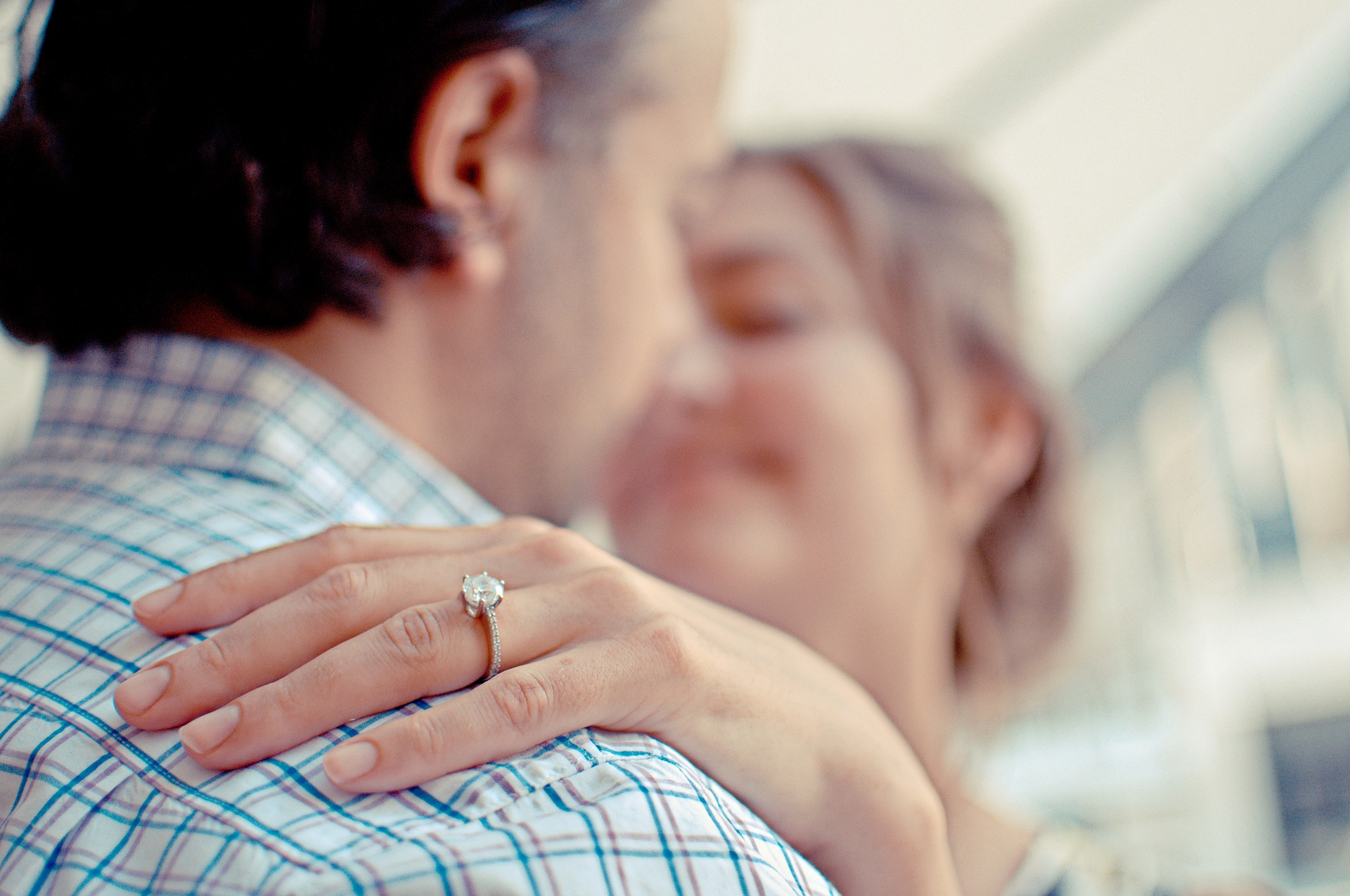 Article image for Is it OK to buy an engagement ring with a synthetic diamond?