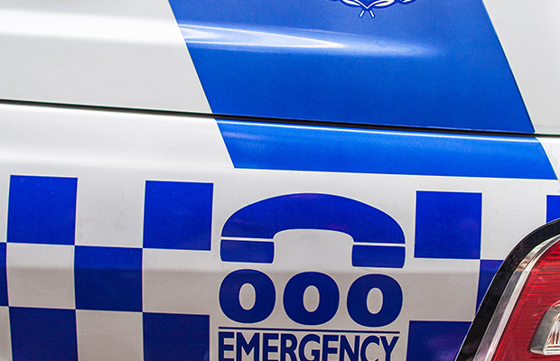 Article image for Dramatic CBD chase: Bus and cop car smashed, driver gets away