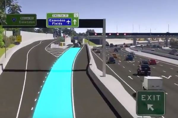 Article image for New exit on the Tullamarine Freeway to open tomorrow